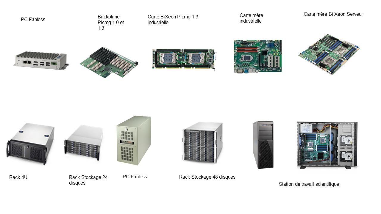 Illustration catalogue informatique industrielle